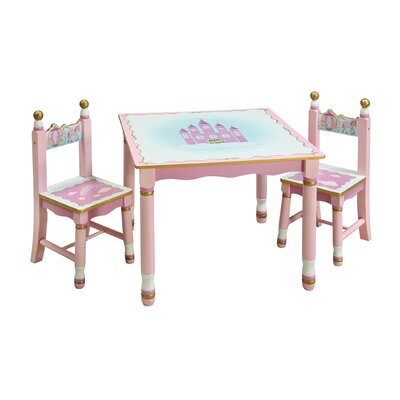 Guidecraft Princess Kids' 3 Piece Table and Chair Set at Sears.com