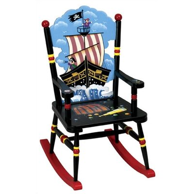 Pirate Kid's Rocking Chair