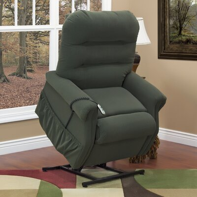 30 Series 3 Position Lift Chair with Extra Magazine Pocket Upholstery: Aaron - Hunter
