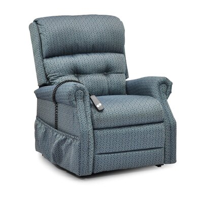 Power Lift Assist Recliner Upholstery: Charolette Ocean