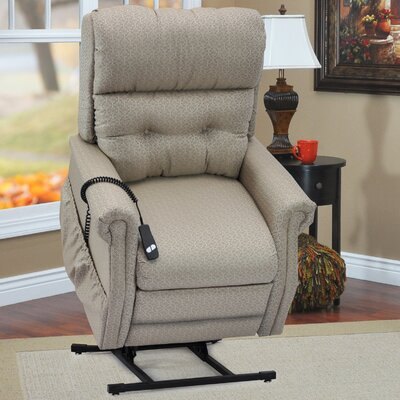 Two-Way Reclining Lift Chair Upholstery: Charolette Dune