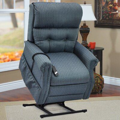 Two-Way Reclining Lift Chair Upholstery: Charolette Ocean