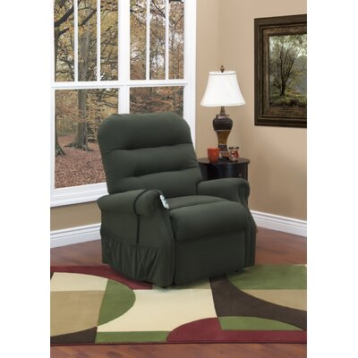 30 Series Lift Assist Recliner Upholstery: Aaron - Hunter