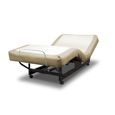 Deluxe Massage Series Bariatric Adjustable Bed Size: Full