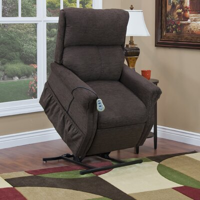 1100 Series Medium 2 Position Lift Chair Upholstery: Chocolate, Moveable Infrared Heat: No