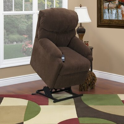 Med-Lift 53 Series Petite Wall-a-Way Reclining Lift Chair - Fabric: Bella Crypton - Chili at Sears.com