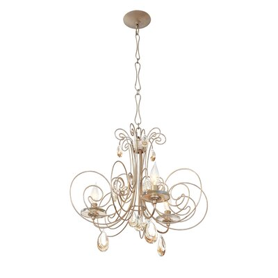 Elysse 3-Light Crystal Chandelier
