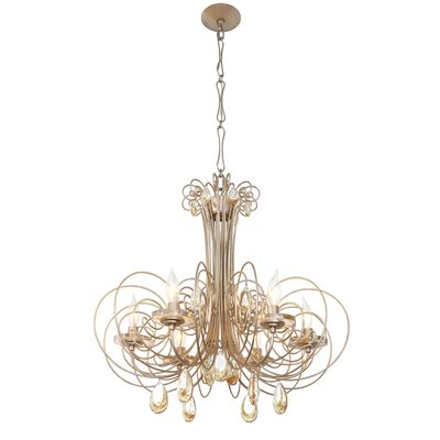 Elysse 6-Light Crystal Chandelier