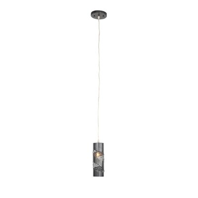 Flow 1-Light Mini Pendant Finish: Steel