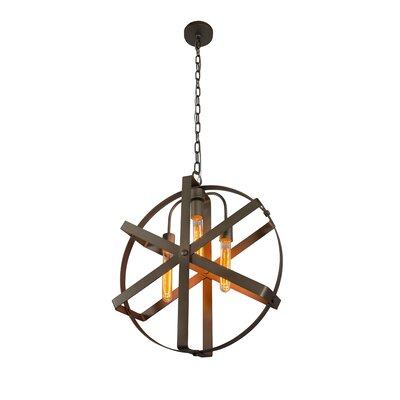 Reel 3-Light Foyer Pendant