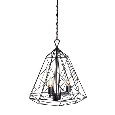 Wright Stuff 3-Light Foyer Pendant