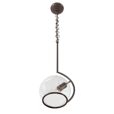 Watson 1-Light Globe Pendant Finish: Metallic Bronze