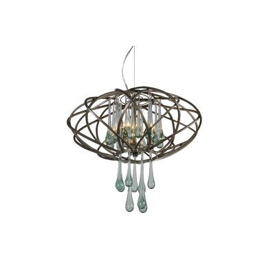 Area 51 3-Light Pendant Finish: New Bronze