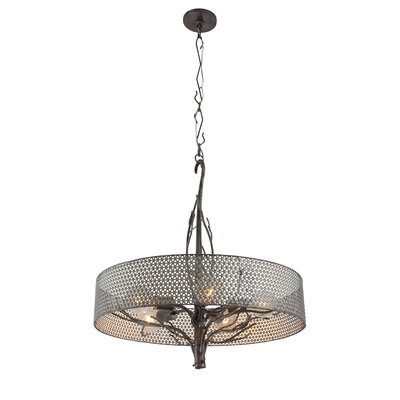 Treefold 5-Light Drum Pendant
