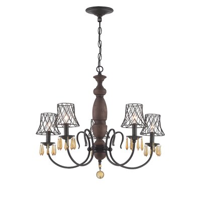 Madelyn 5-Light Candle-Style Chandelier