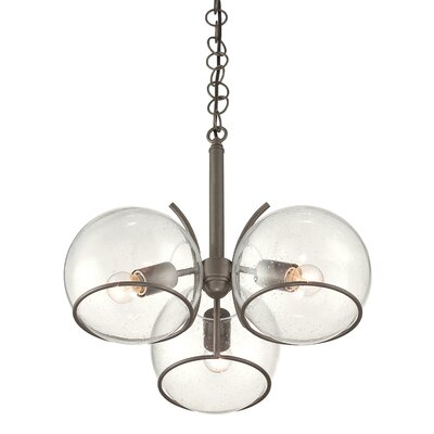 Watson 3-Light Sputnik Chandelier Finish: Metallic Bronze
