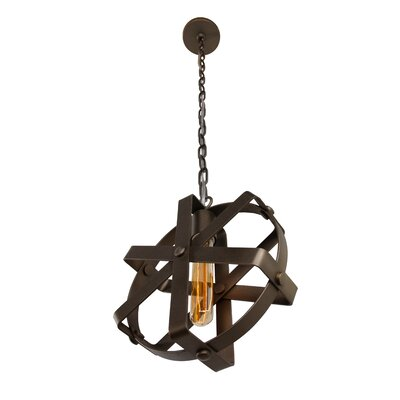Reel 1-Light Foyer Pendant
