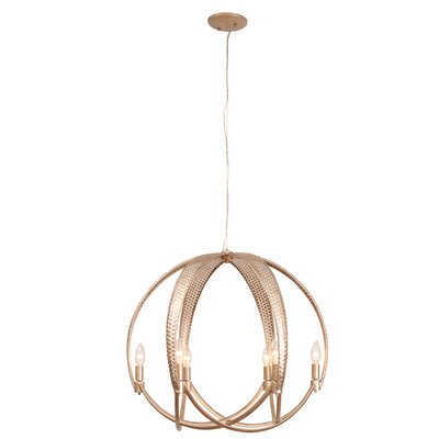 Casablanca 6-Light Mini Pendant Finish: Gold Zen