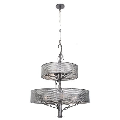 Treefold 9-Light Drum Chandelier