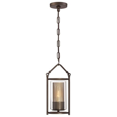Jackson 1-Light Mini Pendant Finish: Rustic Bronze