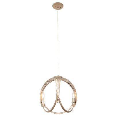 Casablanca 3-Light Mini Pendant Finish: Gold Zen