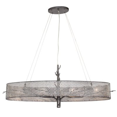 Treefold 4-Light Linear Pendant