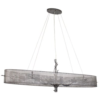 Treefold 6-Light Linear Pendant