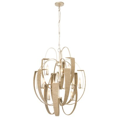 Tinali 12-Light Candle-Style Chandelier