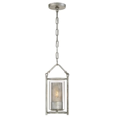 Jackson 1-Light Mini Pendant Finish: Antique Silver