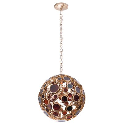 Fascination 3-Light Globe Pendant Finish: Kolorado