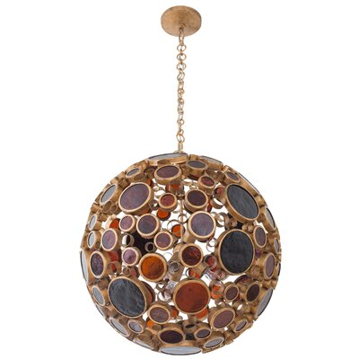Fascination 6-Light Globe Pendant Finish: Kolorado