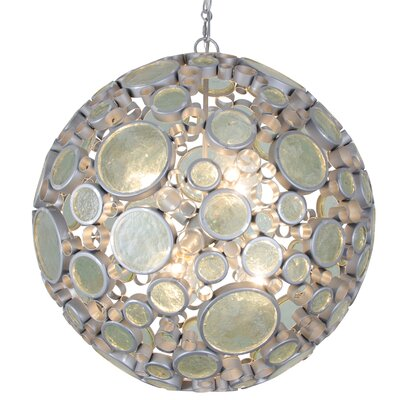 Fascination 6-Light Globe Pendant Finish: Nevada