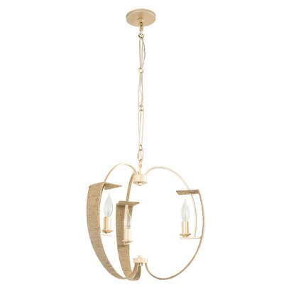 Tinali 3-Light Candle-Style Chandelier