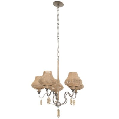 Haven 5-Light Shaded Chandelier