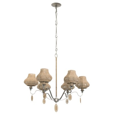 Haven 6-Light Shaded Chandelier