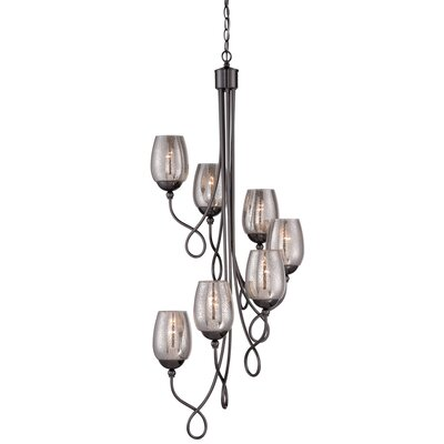 Emma 7-Light Shaded Chandelier