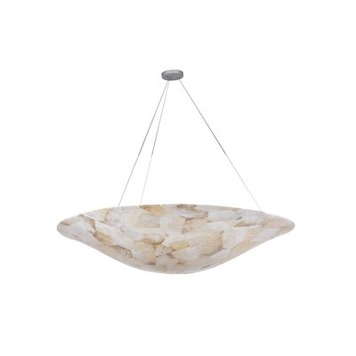 Big 5-Light Inverted Pendant Finish: Kabebe