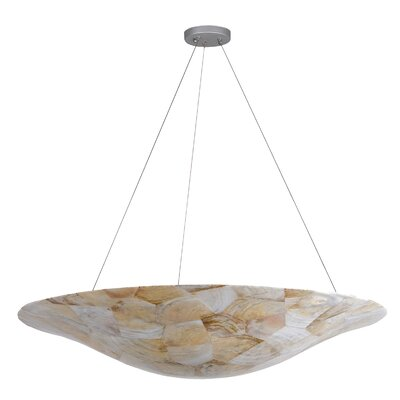 Big 8-Light Inverted Pendant Finish: Kabebe