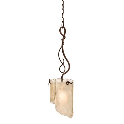 Soho 1-Light Mini Pendant Finish: Hammered Ore