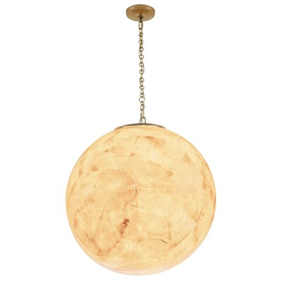 Big 3-Light Globe Pendant Shade Color: Kabebe