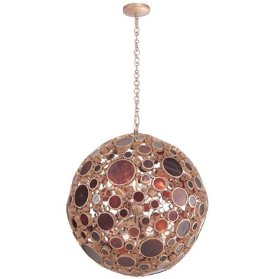 Fascination 8-Light Globe Pendant Finish: Kolorado