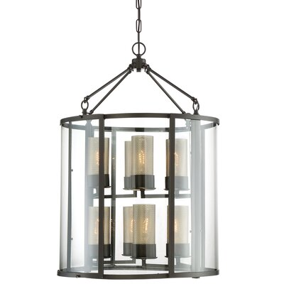 Jackson 8-Light Foyer Pendant Finish: Rustic Bronze