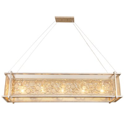 Fascination 5-Light Kitchen Island Pendant Finish: Zen Gold