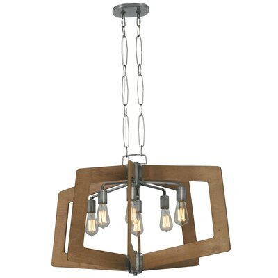 Blayze 8-Light Foyer Pendant Shade Color: Wheat