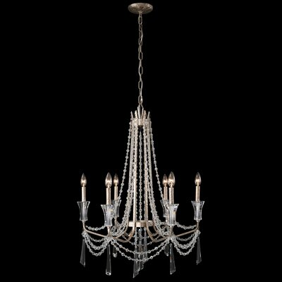 Barcelona 6-Light Crystal Chandelier