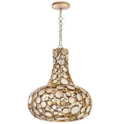 Fascination 3-Light Mini Pendant Finish: Zen Gold