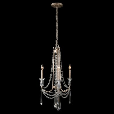 Barcelona 3-Light Crystal Chandelier