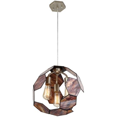 Honeycomb 3-Light Pendant
