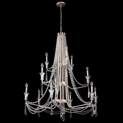 Barcelona 12-Light Crystal Chandelier