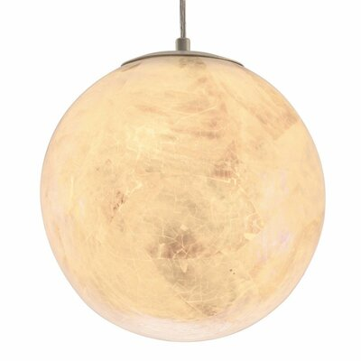 Big 2-Light Globe Pendant